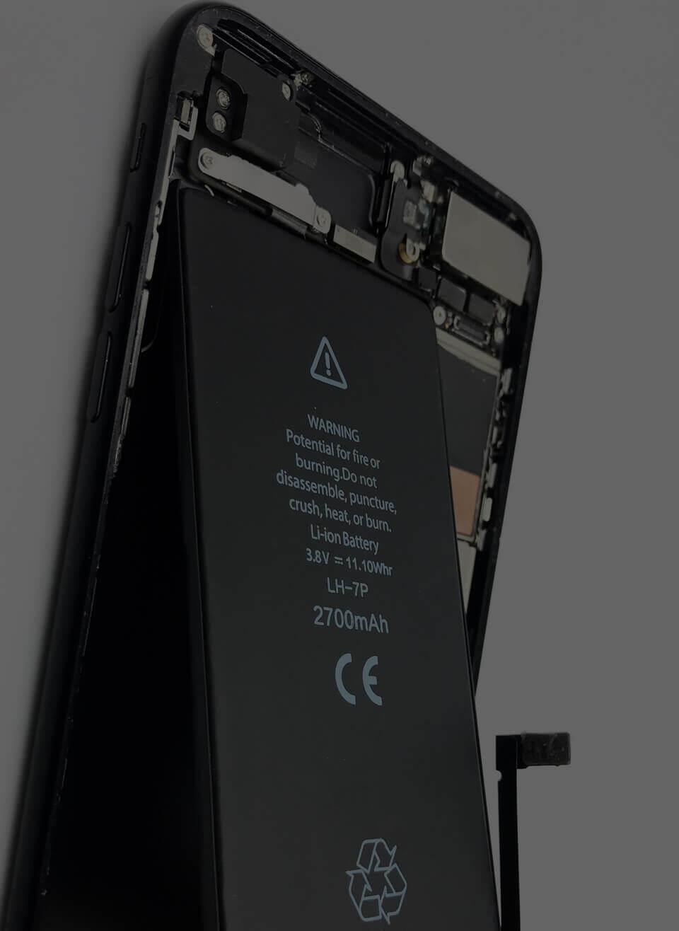 iPhone更換電池