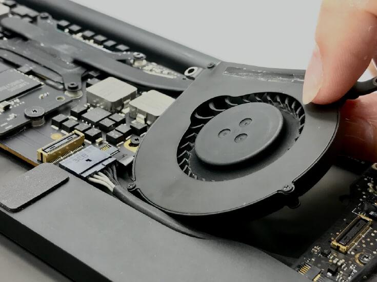 Macbook風扇維修更換